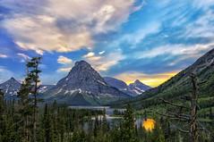 Good Medicine (Philip Kuntz) Tags: sunset sundown evening dusk mtsinopah praylake twomedicinelake visionquests blackfeet twomedicinearea glaciernationalpark montana