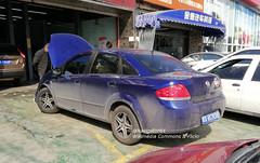 Fiat Linea rear China 2018-03-20 (NavDam84) Tags: fiat linea fiatlinea sedan carsinzhengzhou carsinchina vehiclesinzhengzhou vehiclesinchina
