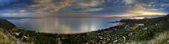 Sperlonga Panorama (hapulcu) Tags: italia italie italien italy lazio mediterranean sperlonga dusk primavera printemps spring sunset