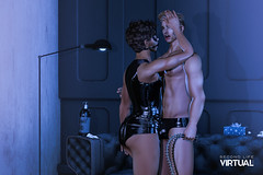 King of my heart (Satuex Resident) Tags: noche minimal kinky brief latex tank latextank latexbrief guy gay male dude pose bento mesh secondlife second life virtual secondlifevirtual sl satuex angelking satuexangelking