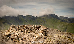 23rd June 2018 (Rob Sutherland) Tags: pikeofbliscoe summit mountain fell hill upland crinklecrags bowfell langdale lakes lakeland lakedistrict pike nationalpark ldnp cairn top high landscape cumbria cumbrian england english britain british uk shelter drystone stone wall