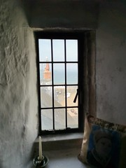 Photo of Through the window, at The Tudors Merchants house in Tenby
