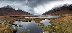 Loch Etive (donnnnnny) Tags: scotland highlands glenetive wildscotland wildcamping mountains snow loch