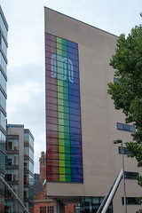 TfGM celebrates #Pride #Building #FlickrFriday (Mike McNiven) Tags: tfgm transport greatermanchester manchester pride lgbt flickrfriday building