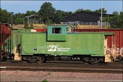 BN 12594 (Justin Hardecopf) Tags: bn burlingtonnorthern 12594 caboose elephant gibson yard omaha nebraska railroad train