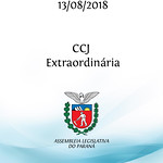 CCJ Extraordinária 13/08/2018