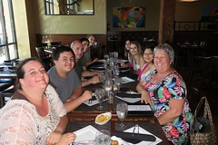 Everybody at the Rodizio Grill (BarryFackler) Tags: rodiziogrill braziliansteakhouse restaurant dining cuisine 2018 lincoln lincolnnebraska lincolnne midwest nebraska table placesettings people family group diners smiles smiling happy trina jacques trevor tj ashley katie roxy bettyfackler bettybowen betty children grandchildren vacation indoor barryfackler barronfackler