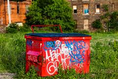 Red (Thomas Hawk) Tags: corktown detroit michigan usa unitedstates unitedstatesofamerica graffiti