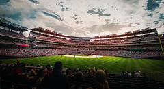 The Ball Park of the Capital (DChoi95) Tags: baseball nationals nats dc district columbia sports event washington capital panorama nikon d3300 sigma sky clouds skyline city