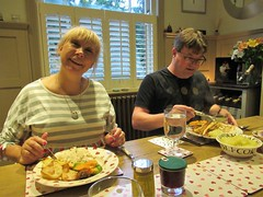 Chicken Dinner Night at Nick and Pippy's (2) (@oakhamuk) Tags: chicken dinner night nick pippys