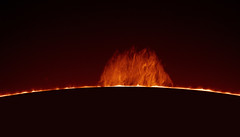 Prominence (plndrw) Tags: sun solar lunt ha hydrogenalpha prominence televue