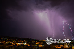 DSC_5476 (Isaeagle) Tags: storm lightening weather mountisa queensland qld australia longexposure landscape thunderstorm scenic scenery nightphotography nightscape