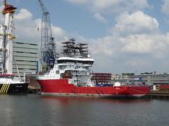 Alucia 2 at Wilhelminahafen Rotterdam (jimcnb) Tags: geo:lat=5189903185 geo:lon=439659118 geotagged schiff schiedam zuidholland niederlande 2018 mai rotterdam ship boat vessel nld