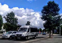 DJThomas (Woolfie Hills) Tags: dj thomas luy 742 mercedes sprinter minicoach swansea