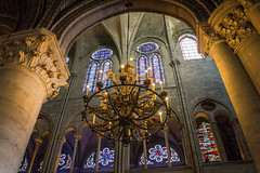 Notre Dame (Fer.Dm) Tags: notre dame notredame paris catedral cathedral church light candle fire europe colours interior