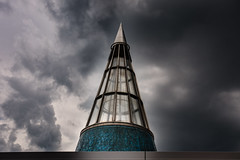 der Himmel über Bonn. DRAMA (glasseyes view) Tags: glasseyesview bundeskunsthalle bonn sky skyporn gewitterhimmel summervibes