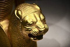 Drents Museum 2018 – Gold rhyton (Michiel2005) Tags: lion leeuw iran perzië persia tentoonstelling teheran tehran national museum irandrents assen drenthe drente nederland netherlands