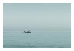 Floating (Number Johnny 5) Tags: tamron d750 nikon calm water mood minimal minimalist sea hue blue minimalism imanoot gorleston tranquil boat art seascape fine 2470mm johnpettigrew dinghy