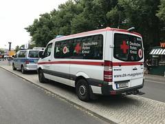Deutsches Rotes Kreuz  / German Red Cross - Ambulance Service Vehicles - Brandenburg Gate, Berlin - June 2018 (firehouse.ie) Tags: berlin germany ambulance polizei redcross drk deutschesroteskreuz vehicles vehicle emergency vehicule vehicules june2018 deutschland mercedes benz mercedesbenz ambulances sprinter ambulancia ambulanz ambulanza ambulans mercedessprinter ambulansa vw volkswagen multivan