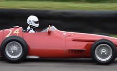 Spinning Wheels #1 (MJ Harbey) Tags: maserati maserati250f redmaserati goodwood goodwoodmembersmeeting goodwoodmm76 redcar spinningwheels racetrack motoracing car nikon d3300 nikond3300