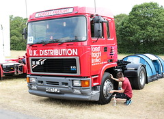 Forest Freight ERF H567CJF Ipswich Truckfest 2018 (davidseall) Tags: forest freight ltd erf h567cjf h567 cjf e10 325 truck lorry tractor unit artic large heavy goods vehicle lgv hgv ipswich truckfest show east june 2018 british