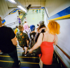 Multicolour humanz (ale2000) Tags: 120 6x6 lca lca120 lomography madrid analog analogphotography analogue blurred blurry candid film goingdown metro motion orange orangehair people square stairs stepping steppingdown steps street streetphotography tube underground filmisnotdead believeinfilm pellicola longexposure multicolour multicolore gente blur lomographycolornegative400