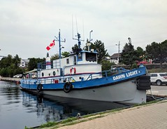 Dawn Light (jmaxtours) Tags: tugboat tug dawnlight 1891 craigshipbuildingco craigshipbuildingcotoledoohio boat tobermory tobermoryontario ontario dive diveboat