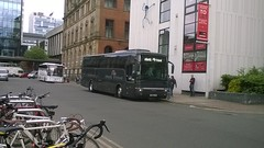 Atlantic Travel YJ06LCZ 12062018 (Rossendalian2013) Tags: bus manchester chorltonstreet coach atlantictravelbolton yj06lcz vanhool daf sb4000 staintoncoacheskendal soluscoachestamworth pdyorktravelwolverhampton