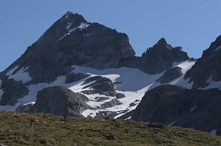 Pointe de Bertol 3499 mètres et sa cabane