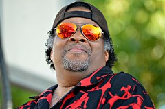 Reverend Barry & Funktastic Soul -- Sarasota Seafood and Music Festival (forestforthetress) Tags: man face people band gig concert festival stage omot nikon sarasota music musician reverendbarryfunktasticsoul funktasticsoul funk fun entertainment florida