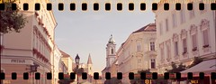 Baroque afternoon (cotnari73) Tags: fejérvár fészkesfehérvár székesfehérvár hungary stolnibiograd ercona2 tessar fuji c41 film alba regia
