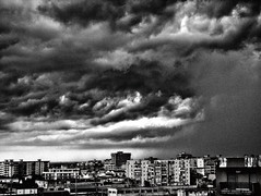 Storm in the city (Franco-Iannello) Tags: blackwhite city storm