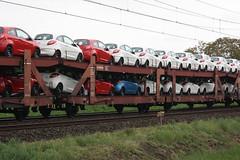 25 80 4366 040-0 - atg - hegelsom - 11512 (.Nivek.) Tags: uic type l goederen wagen goederenwagen goederenwagens wagens gutenwagen guten auto trein autotrein