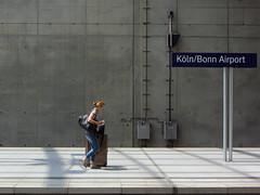 Coming back home (Daniel_Sadono) Tags: streetphotography köln airport germany juni 2018 sunny shadow