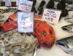 Seattle (mademoisellelapiquante) Tags: pacificnorthwest seattle washington publicmarket pikeplacemarket seattlepublicmarket seafood