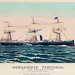 Steamship Victoria of the Anchor Line by an unknown artist, published by Charles Lubrecht (c.1876). Original from Library of Congress. Digitally enhanced by rawpixel.
