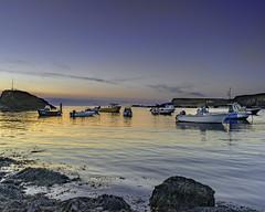 Sunset Moorings (jonsomersphotos) Tags: atlanticcoast bude coast coastline cornwall july2018 kernow landscape northcornwall rocks seascape seashore southwestcoastpath summerleazebeach sunset