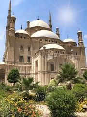It is one of the most beautiful ancient heritage of ancient Egypt, the castle of Muhammad Ali Pasha. (basem_teacher) Tags: shot iphone view scenery scene oldcairo sunset morning summer amazing explore adventure awesome trip photographer photography landscape lightroom egyptian egypt cairo mohamedalimosque moments mohamedalipalace