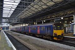 Northern Sprinter 150106 (Will Swain) Tags: huddersfield station 7th april 2018 yorkshire town train trains rail railway railways transport travel uk britain vehicle vehicles england english northern sprinter 150106 class 150 106 williamsdigitalcamerapics100