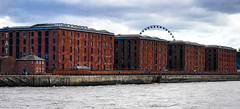 Albert dock, and big wheel, Liverpool. (David JP64) Tags: albert dock liverpool big wheel