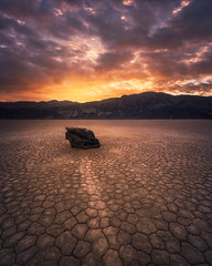 The Unknown Journey (Foto Fresh) Tags: california nevada sierranevada deathvalley nationalpark basin mud cracks luminosity glow etheral mountains sunrise dawn sunray sunburst colorful photoshop sony a7r3 a7riii wideangle perspective focusstacking blend exposure hdr