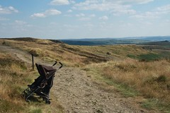 Buggy (My photos live here) Tags: hathersage the buggy moor derbyshire england canon eos 1000dcountryside grass grassland high peak