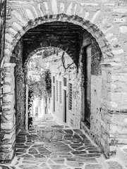 7150L The Archways of Filoti (foxxyg2) Tags: filoti naxos cyclades greece greekislands islandhopping islandlife mono monochrome bw blackwhite tone tonality niksoftware silverefex