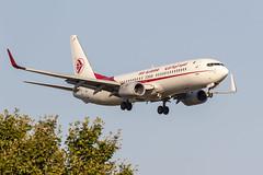 Boeing 737-8D6 7T-VJP Air Algerie (msd_aviation) Tags: airalgérie boeing b737 b738 b737800 boeing737 lebl bcn barcelona barcelonaelprat landing aviation aviationpics aviation4u planespotting spotters spotting