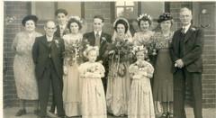 Horace Heaton Staniforth's Wedding, 1949 Sheffield (StaniforthSociety) Tags: sheffield staniforth sadler history ancestry yorkshire family wedding marriage