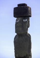 Ahu Ko Te Riku Tahai Moai near Hanga Roa Easter Island Chile 02 (Barbara Brundage) Tags: ahu ko te riku tahai moai near hanga roa easter island chile 02