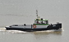 Joel (2) @ Gallions Reach 14-08-18 (AJBC_1) Tags: riverthames gallionsreach northwoolwich newham londonboroughofnewham eastlondon london england unitedkingdom greatbritain uk gb boat vessel workboat joel worksafetyboat nikond3200 ajbc1 ©ajc dlrblog