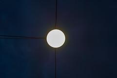 Mond? (BobbesStar) Tags: laterne mond nacht licht