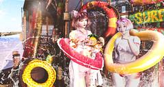 海边@girl power (imp朣) Tags: secondlife second summer life girl