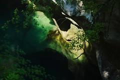 Deep green (Mi-Fo-to) Tags: vecchia strada val cellina old road canyon forra gola erosione verde green abstract astratto landscape paesaggio parco dolomiti friulane italia italy friuli sony 24 240